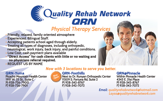 Quality Rehab Network Direct Marketing