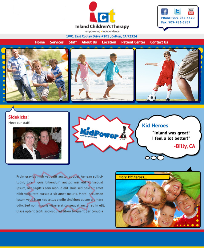 Inland Children's Therapy, Inc.